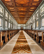Laurentina Library, Florence by Michael Angelo