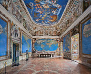 Villa Farnese, Room of the World Map