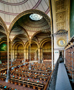 Bibliotheque Nationale de France, Salle Labrouste, Paris