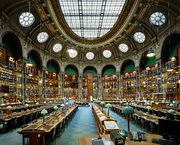 Bibliotheque Nationale de France, Oval Hall, Paris