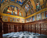Library of Escorial Palace, San Lorenzo