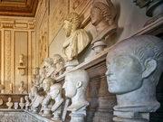 Emperor busts, Capitolini Museum, Rome