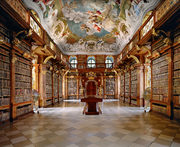 Library of the Melk Abbey, Melk
